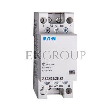 Stycznik modułowy 25A 2Z 2R 24V AC Z-SCH24/25-22 248850-135694