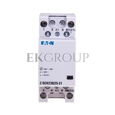 Stycznik modułowy 25A 3Z 1R 230V AC Z-SCH230/25-31 248846-135707