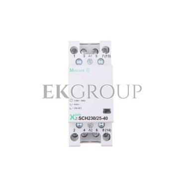Stycznik modułowy 25A 4Z 0R 230V AC Z-SCH230/25-40 248847-135708