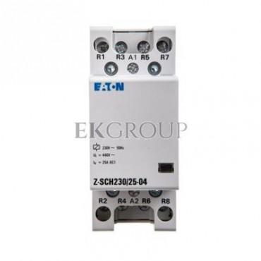 Stycznik modułowy 25A 0Z 4R 230V AC Z-SCH230/25-04 248848-135781