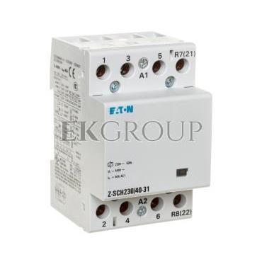 Stycznik modułowy 40A 3Z 1R 230V AC Z-SCH230/40-31 248854-135712