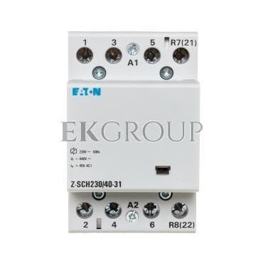 Stycznik modułowy 40A 3Z 1R 230V AC Z-SCH230/40-31 248854-135713