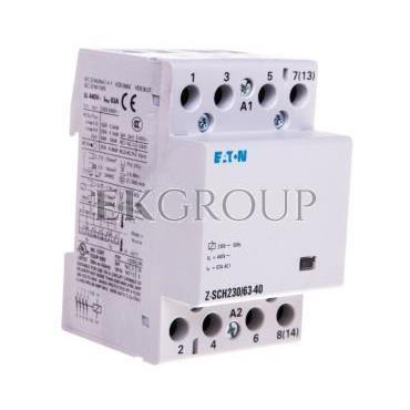 Stycznik modułowy 63A 4Z 0R 230V AC Z-SCH230/63-40 248856-135729