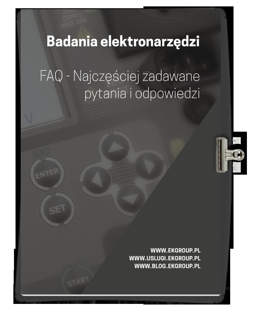 Badania Elektronarzędzi - FAQ