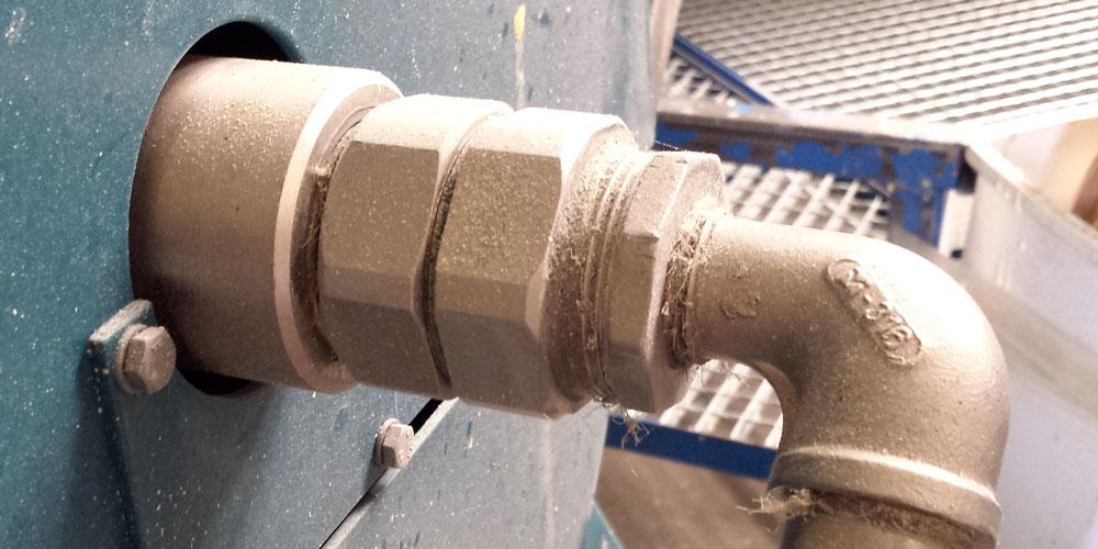 Modernizacja układu przemysłowego ze złączami obrotowymi