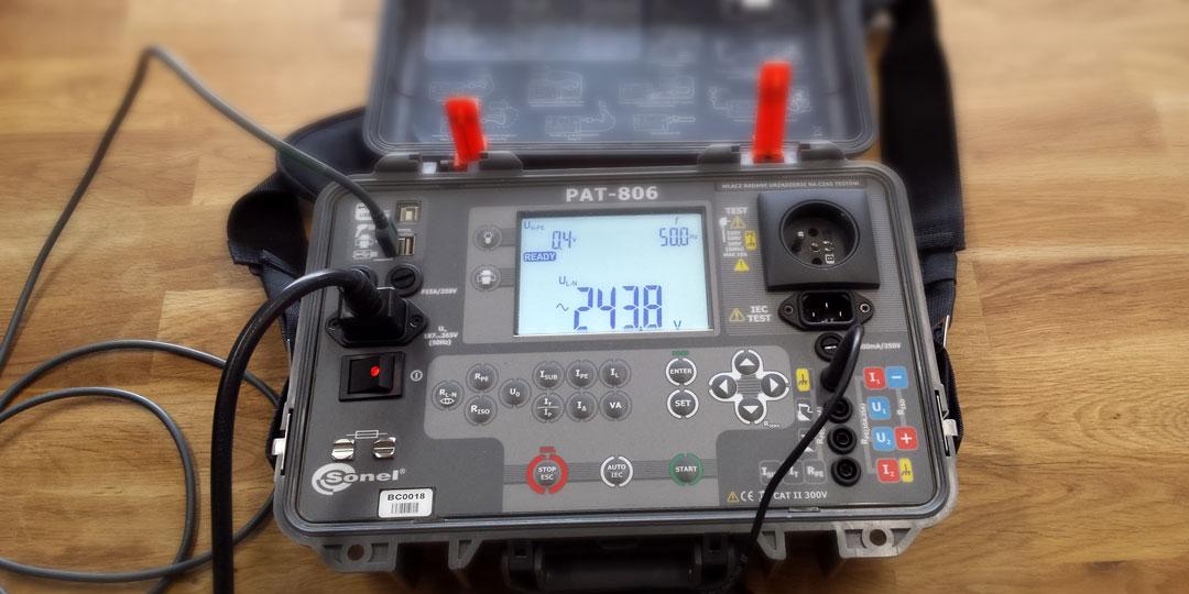 Przyrząd pomiarowy PAT-806 marki SONEL
