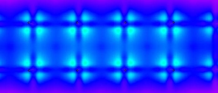Obraz natężenia oświetlenia LED